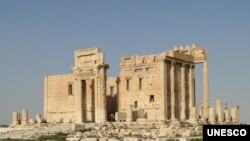 Bel Temple in Palmyra Syria