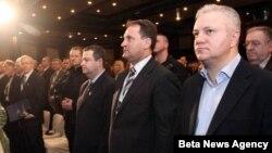 Mlađan Dinkić i Ivica Dačić na Kopaonik biznis forumu ranije ove godine