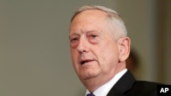 美国国防部长马蒂斯。