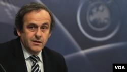 Presiden Asosiasi Sepakbola Uni Eropa (UEFA), Michel Platini.