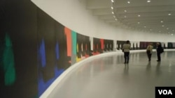 En la exhibición de 80 piezas de Warhol, un 40% son desconocidas por el público hasta ahora.
