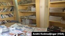 Pas de journaux dans la rue à N'Djamena, au Tchad, le 19 février 2018. (VOA/André Kodmadjingar)
