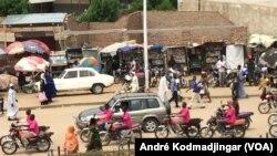 Le Tchad vit au rythme d'une grogne sociale à N'djamena, le 13 décembre 2017. (VOA/André Kodmadjingar).