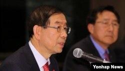 박원순 서울 시장이 지난 12일 열린 경제인 초청 간담회에서 발언하고 있다. (자료사진)