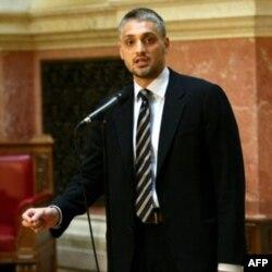 Lider LDP-a Čedomir Jovanović nakon sednice Skupštine Srbije