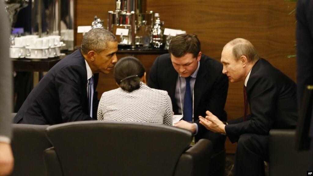 Обама поспілкувався зПутіним насаміті G20 уТуреччині