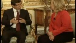 Davutoğlu Clinton Görüşmesi