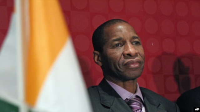 The Ivory Coast ambassador to the United Nations, Youssouf Bamba, who was in Washington this week, urged for more decisive pressure against incumbent President Laurent Gbagbo, February 10, 2011