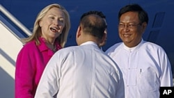 Επίσκεψη Κλίντον στη Βιρμανία