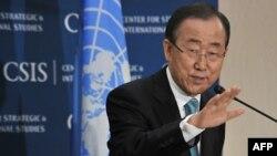 ເລຂາທິການໃຫຍ່ ອົງການສະຫະປະຊາຊາດ ທ່ານ Ban Ki-moon