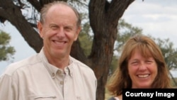 Former Education Minister David Coltart (left) says he loves Zimbabwe. (Photo: David Coltart Facebook Page)