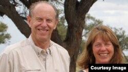 Former Education Minister David Coltart (left) says he loves Zimbabwe. (Photo: David Coltart Facebook Page)