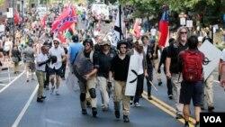 راستگرایان افراطی این مظاهرات را بر پا کرده بودند
