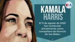 ¿Quién es Kamala Harris, vicepresidenta electa de EE:UU.?