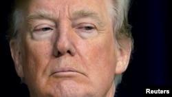 Donald Trump à Camp David, Maryland, le 6 janvier 2018