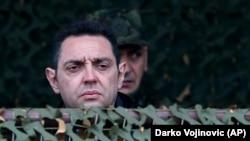 Aleksandar Vulin, ministar odbrane Srbije (Foto: AP/Darko Vojinovic)