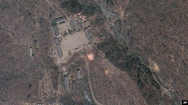 지난해 6월 북한 풍계리 핵 실험장 위성 사진.