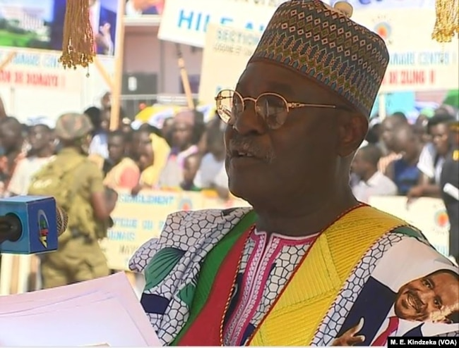 Lawmaker and Cameroon national assembly speaker Cavaye Yegui Djibril spoke on behalf of the population of the north.