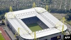 Sân vận động Westfalen ở thành phố Dortmund, miền đông nước Đức