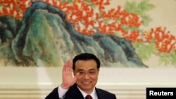 Chinese Premier Li Keqiang (file photo)