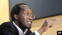 Rwandan Callixte Mbarushimana during an interview with The Associated Press in Paris (File Photo - 15 Oct 2009)