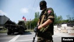 Бойовик так званої «Російської православної армії»