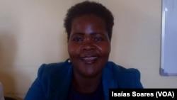 Filomena Joaquim Baião, da União das Mulheres de Renovação Social em Malanje, Angola