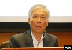 佔領中環運動發起人朱耀明表示,無法佔計佔中會否變成89民運的翻版(美國之音湯惠芸)