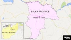 아프가니스탄 발크 주 지역 (자료사진)