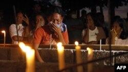 Президент Филиппин побывал в пострадавших от тайфуна районах