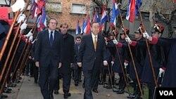 Ban Ki-moon visitó un centro penitenciario, se reunió con el canciller Luis Almagro y con el presidente José Mujica como parte de su cargada agenda en Uruguay.