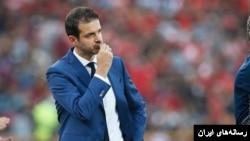 Manager of Esteghlal football club, آندرا استراماچونی سرمربی تیم فوتبال استقلال تهران