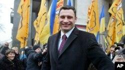 乌克兰拳击冠军, 反对派领袖维塔利·克利琴科