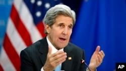 Waziri wa Mambo ya Nje wa Marekani, John Kerry.