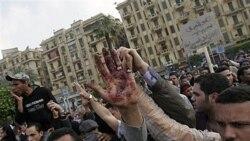 سرکوب خونین معترضان مصری