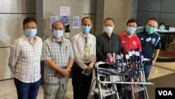 香港民主派初選主辦單位公佈投票總人數超過60萬人,創下民間投票到站人數最高紀錄。(美國之音湯惠芸)