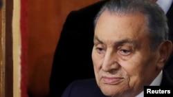 埃及前強人總統穆巴拉克去世。(資料圖片)