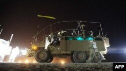 미군이 보유한 지뢰방호 장갑차량. (자료사진)