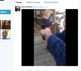 Hung thủ chĩa súng vào phóng viên Allison.