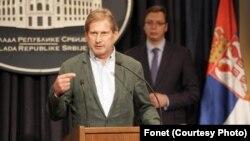 Komesar Evropske unije za regionalnu saradnju Johanes Han