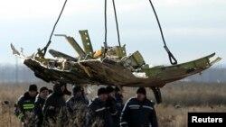 11月20日荷蘭空難調查人員結束了對馬航墜機殘骸的收集工作。
