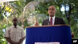 Haiti's presidential candidate Michel Martelly (file photo)