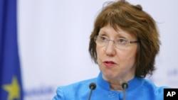 캐서린 애쉬턴 유러연합 외교안보 대표. (자료 사진)