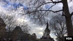 راهپيمايی وحدت در پاريس
