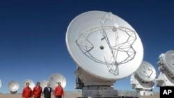 Teleskop Alma nalazi se u pustinji Atakama na severu Čilea.