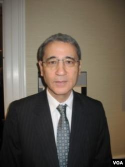 美国的中国问题专家章家敦 (申华拍摄)