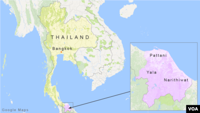 Pattani Thailand Map.Car Bomb In Thailand S Muslim Dominated South Wounds Over 50
