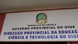 Directores ameaçados por aderirem à greve no Uíge - 1:35