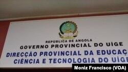Professores no Uíge pouco esperançados que Pinda Simão resolverá os seus problemas - 2:00