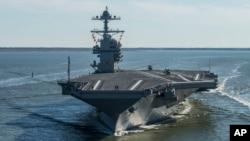 Jirgi USS Gerald R. Ford